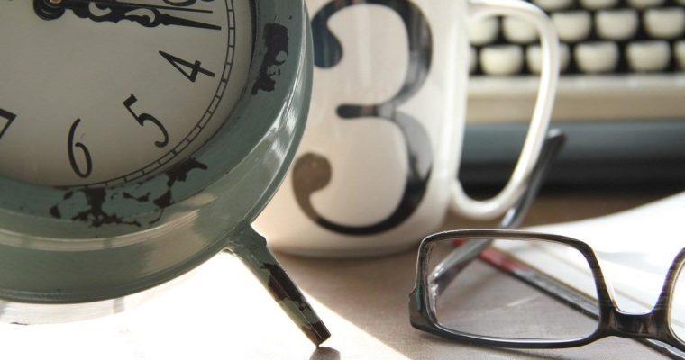 仕事を時間と共に管理する